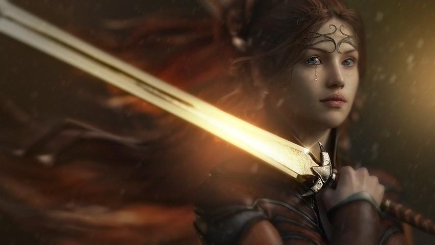 sword girl